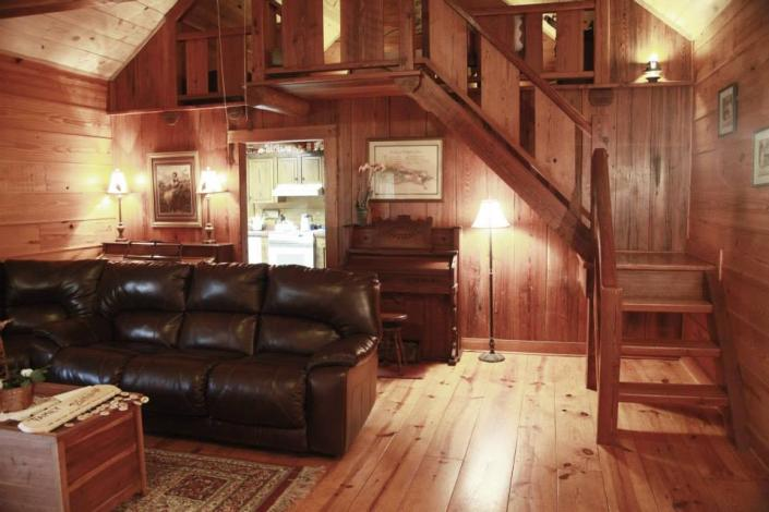 You will always have plenty of space in our lovely cabins.