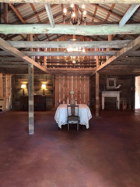 Our beautiful rustic barn comes with historical charm along with completely renovated bathrooms and more.